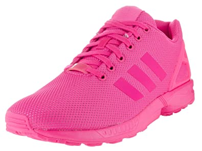 sports shoes a60c1 9c35d where to buy adidas zx flux mens shoes shock pink s75490 11.5 dm 54f5e 47652