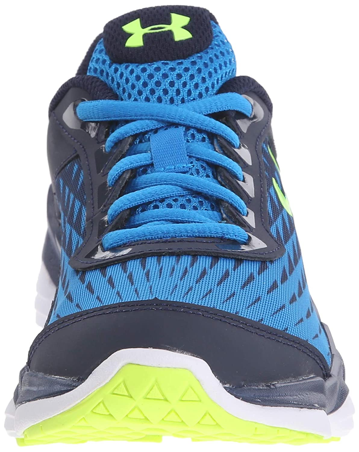f6fe3ba29a242 Amazon.com | Under Armour Boy's Micro G Spine Disrupt Running Shoe | Running