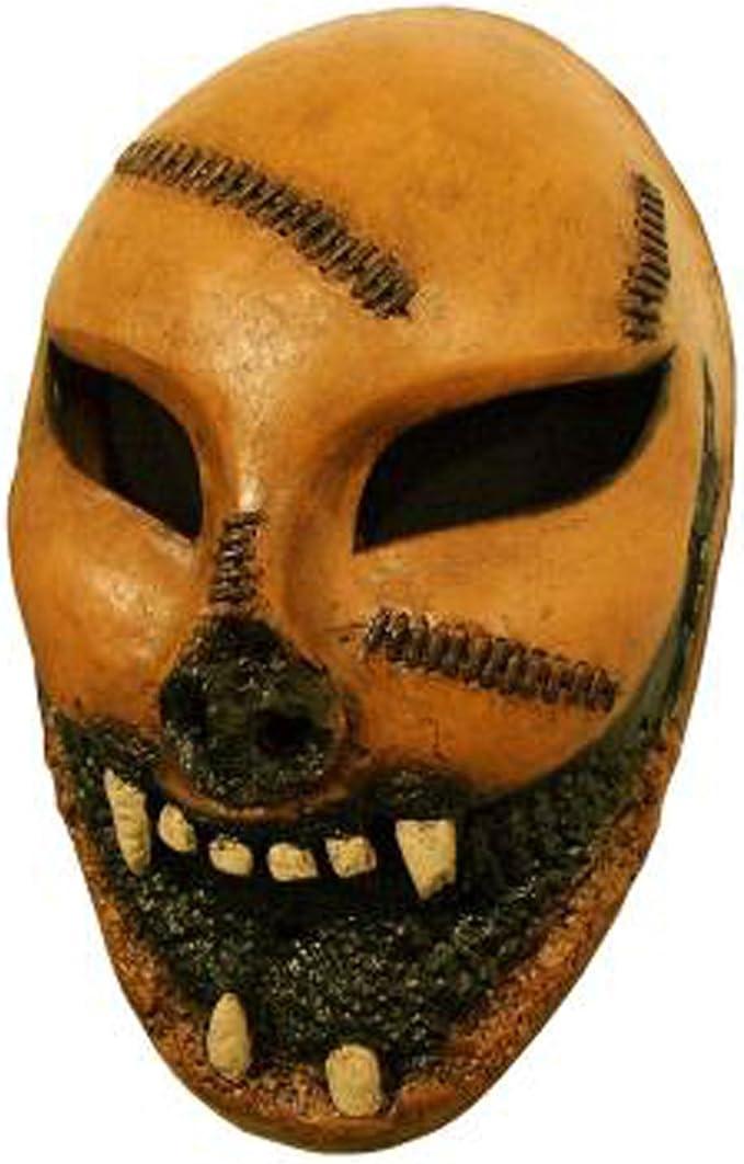 Adultos máscara de disfraz de la purga - Marrón -: Amazon.es: Ropa ...