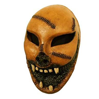 Adult The Purge Costume Mask (Faux Leather Zombie)