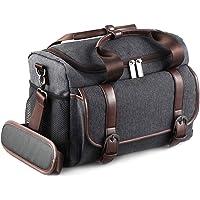 SMALLRIG カメラバッグ カメラケース デジタル一眼レフカメラ用 防水 耐衝撃性 (グレー)2208