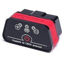iCar Wifi OBD2 Diagnosegerät, Scanner Scan-Tools, Auto WiFi Diagnose für Autos, WLAN, zum Auslesen & Löschen von Fehlercodes