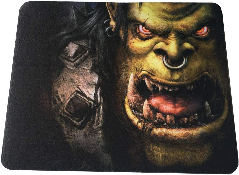 Repliquemangacine Tapis Souris Warcraft Orque en Mousse de Haute qualit/é