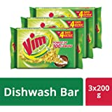 Vim Dishwash Bar, 3x200 g