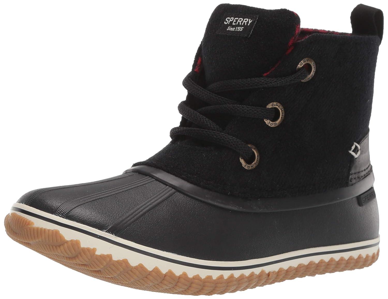 797b6c185d2 Amazon.com | SPERRY Women's Schooner 3-Eye Lace Up Canvas Snow Boot ...