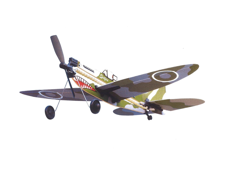 Amazon com: LYONAEEC Flyable Historic Rubber Band Toy Model