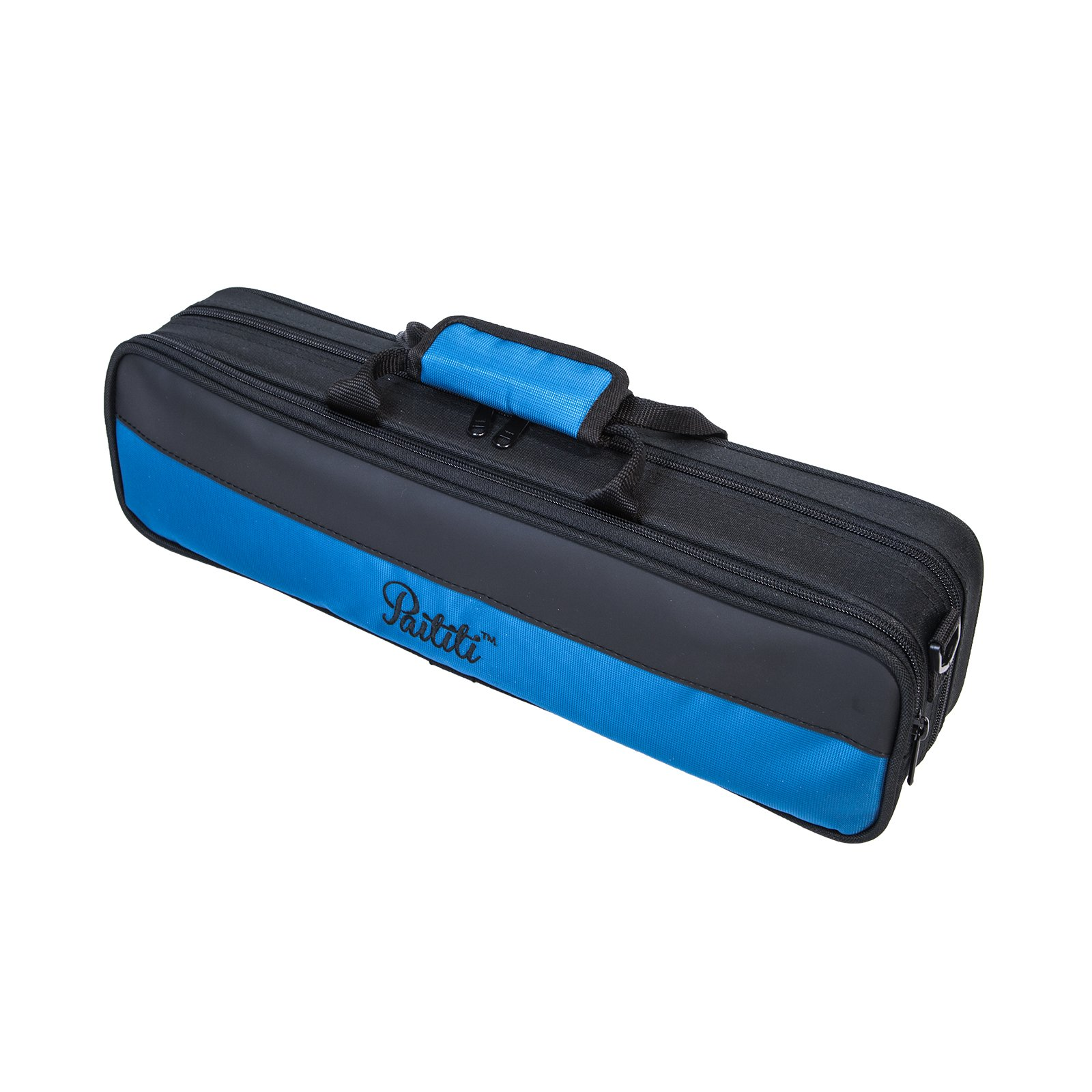Paititi Lightweight B foot Flute Case with Detachable Shoulder Strap, Large