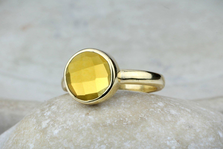 Citrine Wedding Band,Half Eternity Citrine Ring,Stacking Matching Band,Diamond Simulated Ring,November Birthstone