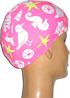 product image for Toddler Day at The Beach Print Lycra Swim Cap