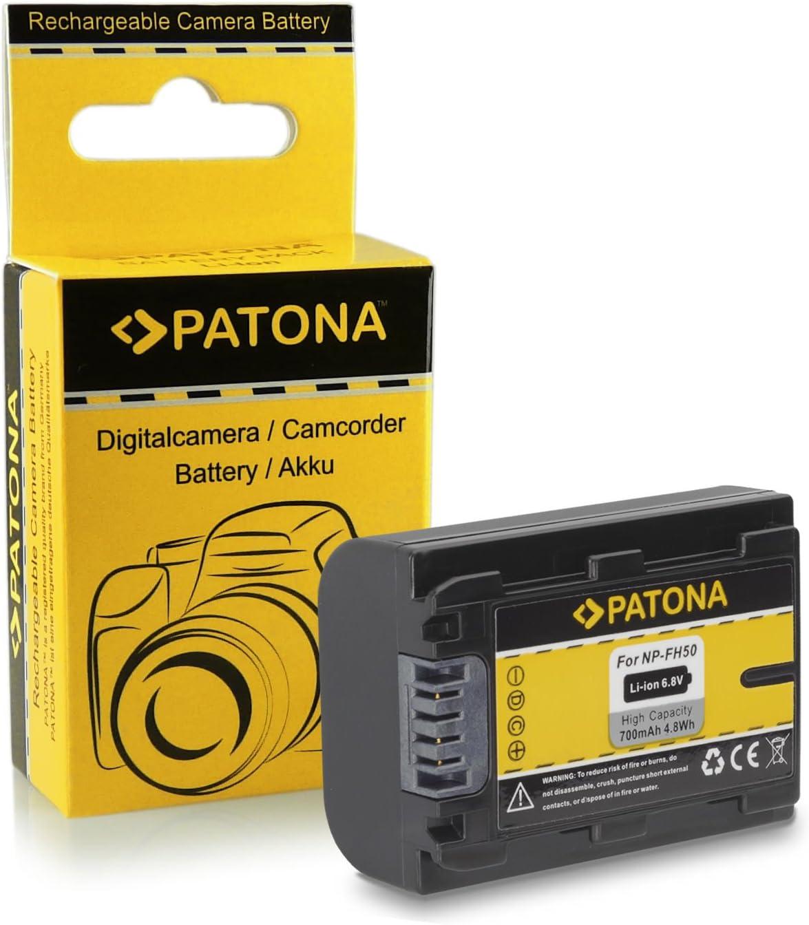Batería NP-FH50 para Sony CyberShot DSC-HX1 | DSC-HX100V | DSC ...