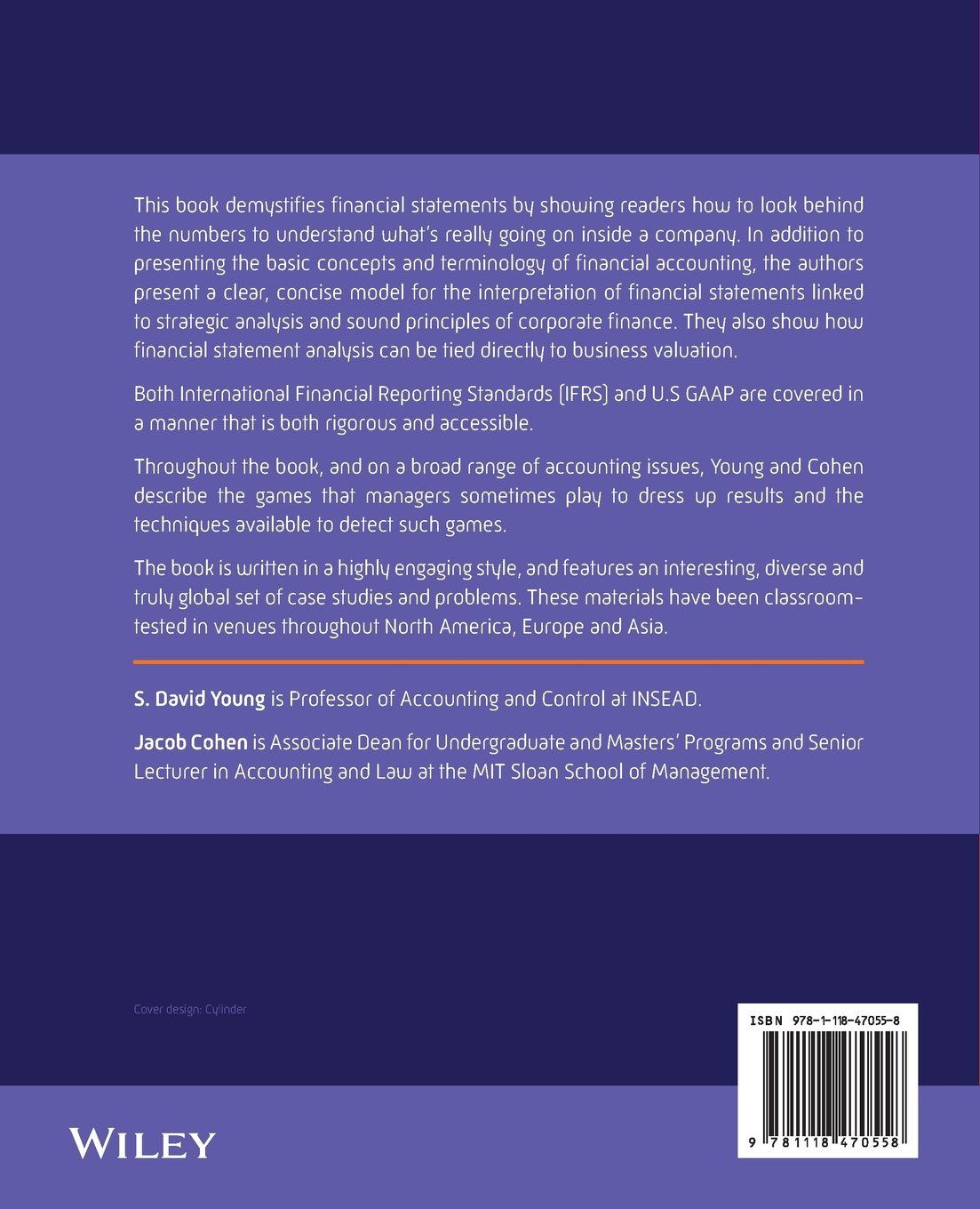 amazon corporate financial reporting and analysis david young