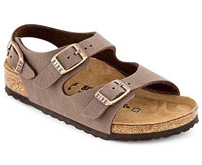 c319989a72ea Birkenstock Kids  Narrow Fit Roma Sandal Mocha  Amazon.com.au  Fashion