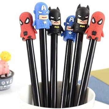 Kieana Super Hero Pen For Kids Girls Boys Birthday Return Gifts Pack Of 6 Amazonin Toys Games