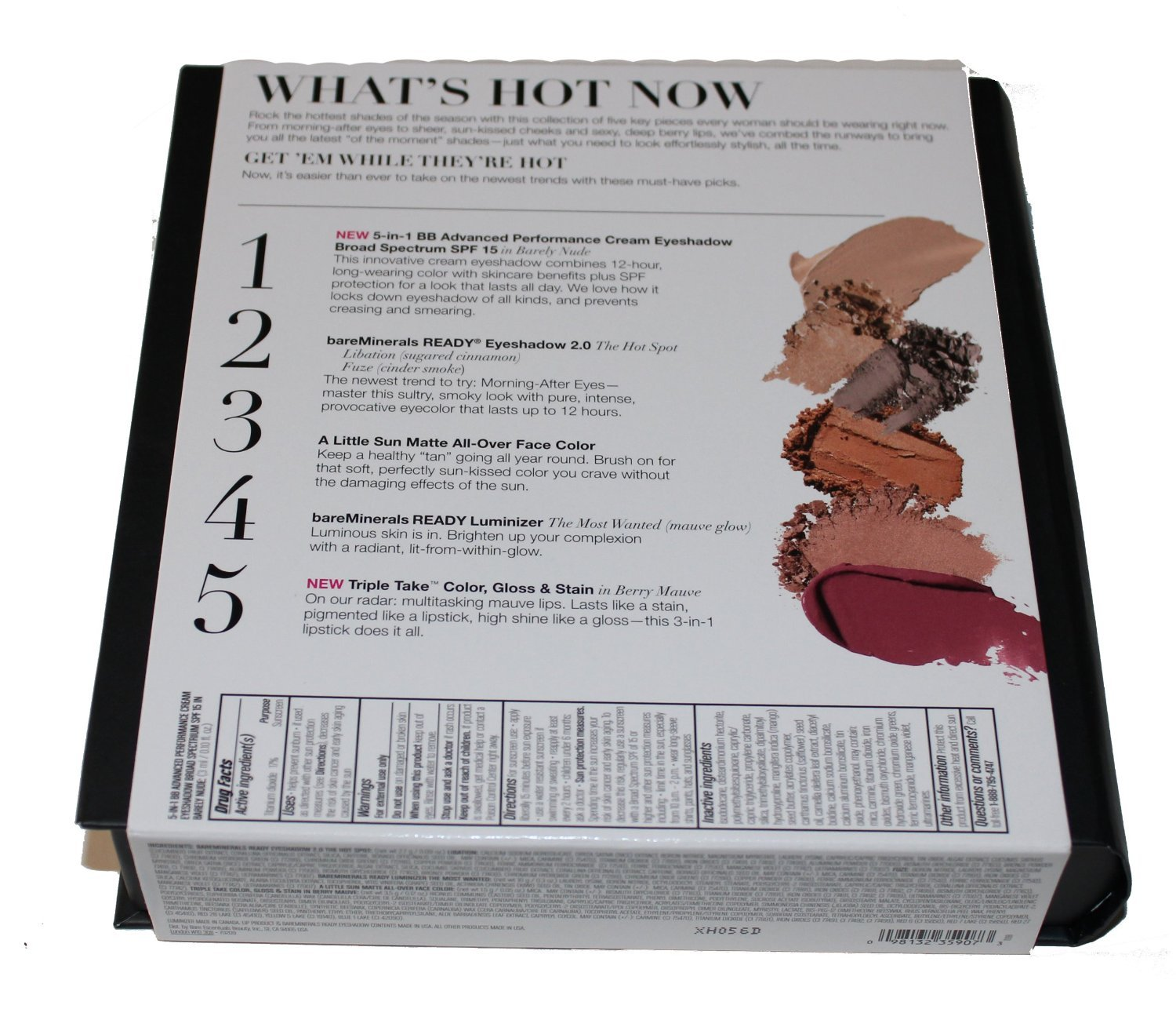 Amazon.com : bareMinerals The Hot List 5-Piece Color Collection by ...