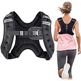 Henkelion Weighted Vest Weight Vest for Men Women Kids 4 6 8 12 16 Lbs Weights Included, Body Weight Vests Adjustable…