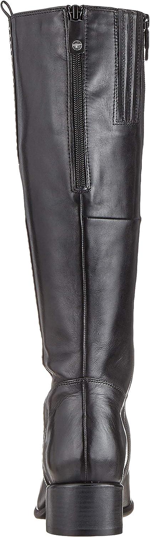 Tamaris Damen 1-1-25575-33 001 Hohe Stiefel, Schwarz (Black) Schwarz Black 001