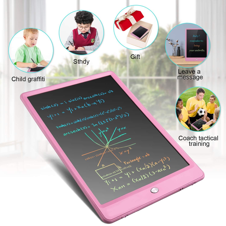 Tavoletta Grafica LCD Tablet Scrittura 10 Pollici Elettronica Tavoletta Grafica Lavagna Portatile da Disegno con Penna per Bambini Progettista Studenti Famiglia Ufficio
