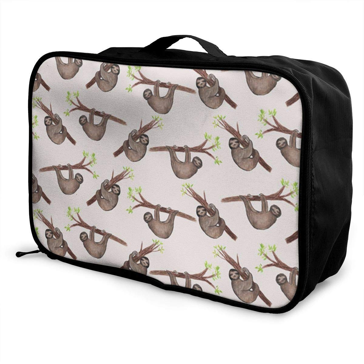 Travel Duffel Bag Waterproof Fashion Lightweight Large Capacity Portable Duffel Bag for Men /& Women JTRVW Luggage Bags for Travel Cute Sloth Pattern