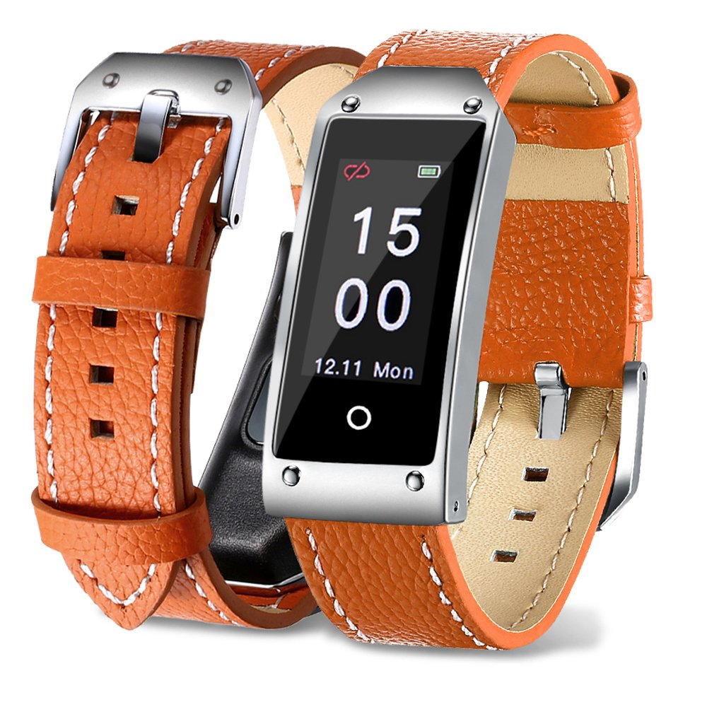 Sports Smart Watch,Smart Bracelet,Fitness Tracker Watch, for Women Men and Kids - Orange