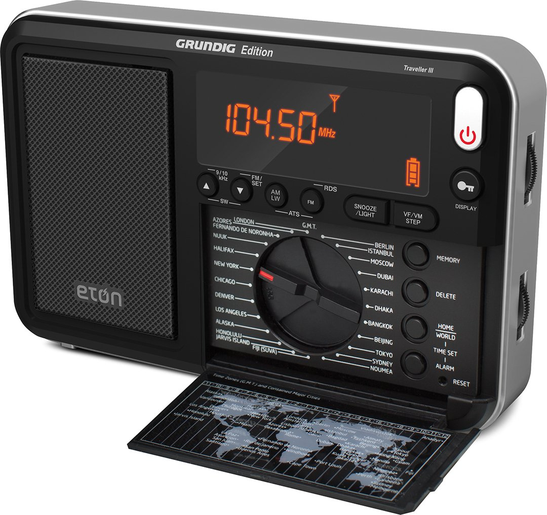 Amazon.com: Eton Traveler III AM / FM / LW / SW and Radio with ATS,  NGWTIIIB: Home Audio & Theater