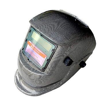 LAIABOR Casco De Soldadura Careta Máscara para Soldar De Energía Solar De Oscurecimiento Automático Y Ajustable