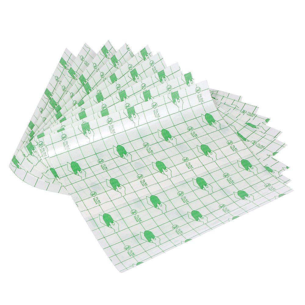 Anself 10Pcs Tattoo Repair Stickers Protective Breathable Tattoo Film After Care Tattoo Solution W5393-D1MVR3