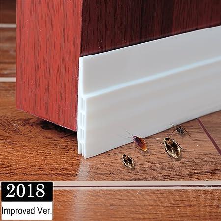 Genial Under Door Draught Excluder Self Adhesive Draft Excluder Tape For Doors  Soundproof Rubber Door Bottom Seal