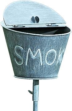 Praktischer Aschenbecher Raucher TOPANGEBOT dekorativer Gartenstab Ascher