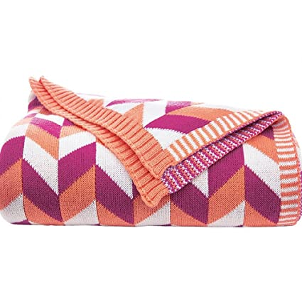Amazon LakeMono Luxurious Crocheted Knitting Throw Blankets Magnificent Patterned Blankets