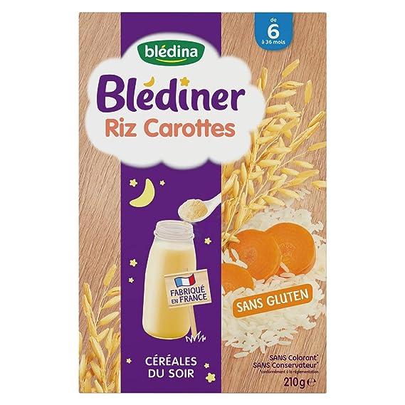 france pas cher vente design élégant luxuriant dans la conception Blédina BLEDINER Riz Carottes dès 6 mois 1.47 kg - Pack de 7 ...