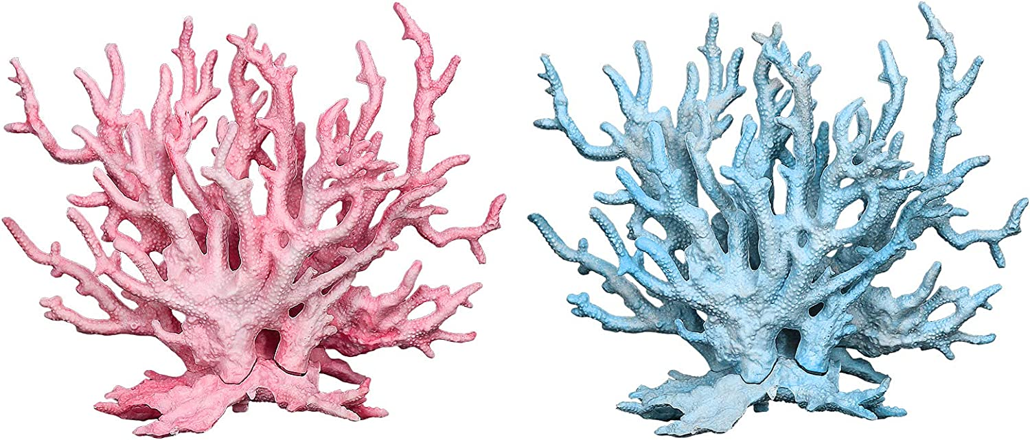 Pawliss Aquarium Decor Fish Tank Decoration Ornament Coral
