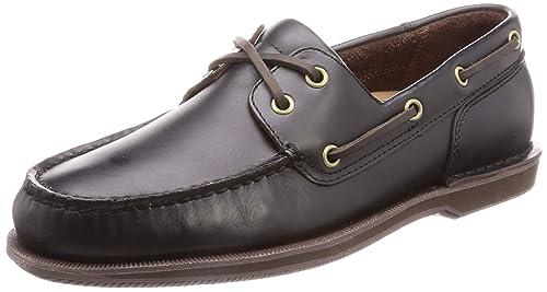 bastante agradable c3e8a a29c8 Rockport PERTH - Náuticos de cuero para hombre, marrón, 44 EU