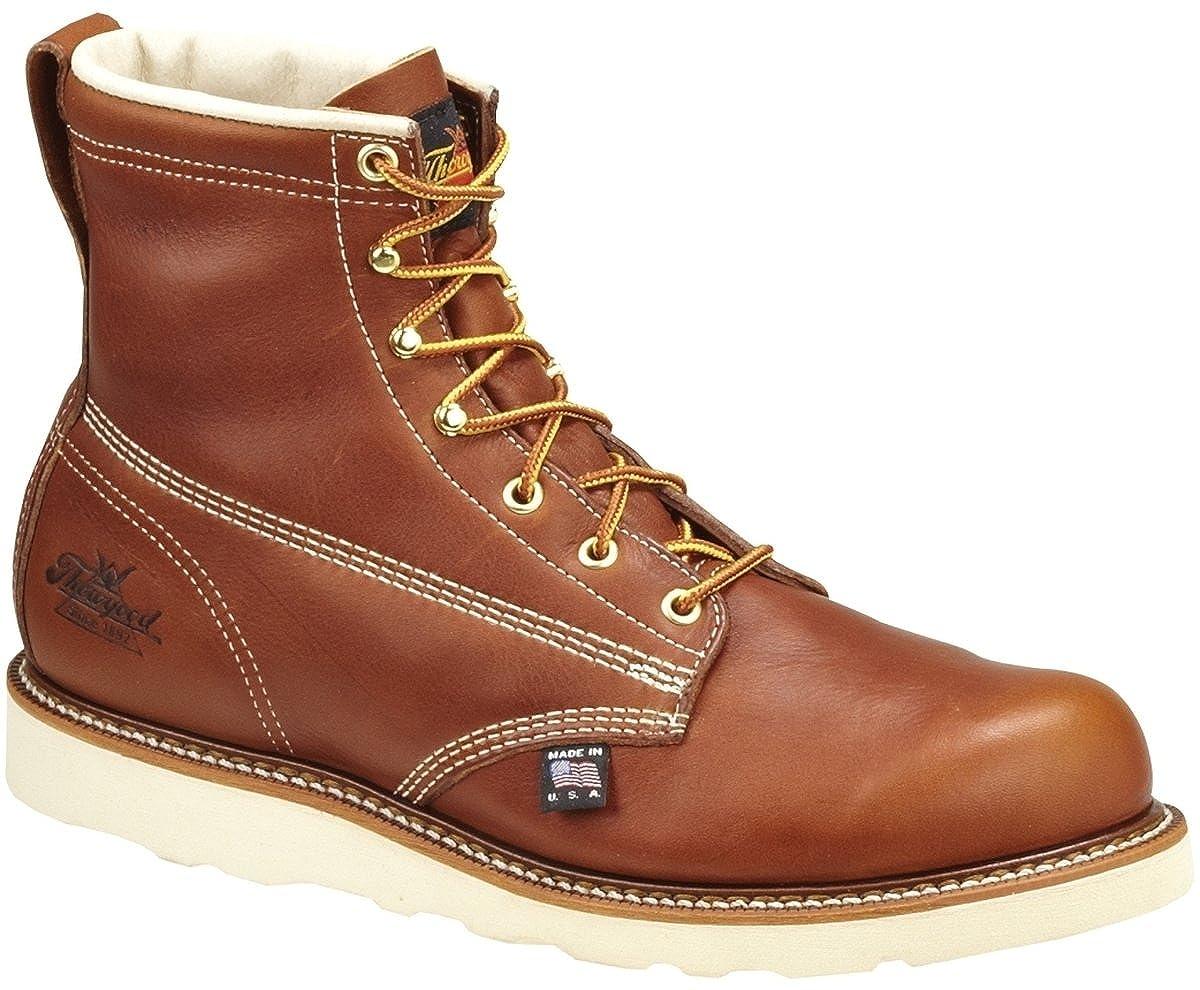 Thorogood Men's American Heritage 6' Plain-Toe Boot 6 Plain Toe Boot