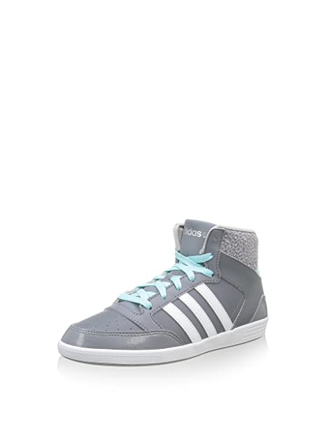 adidas Chaussure Fitness Hoops VL Mid W Femme Gris F98641