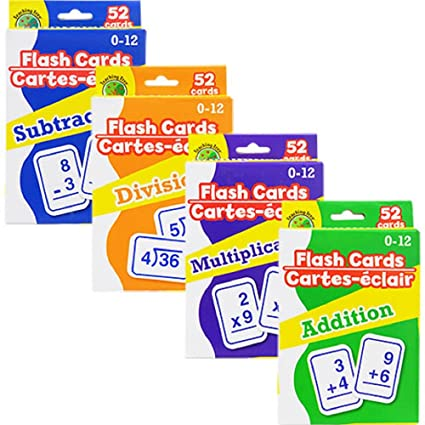 Buy Math Flash Cards Online at Low Prices in India Amazonin