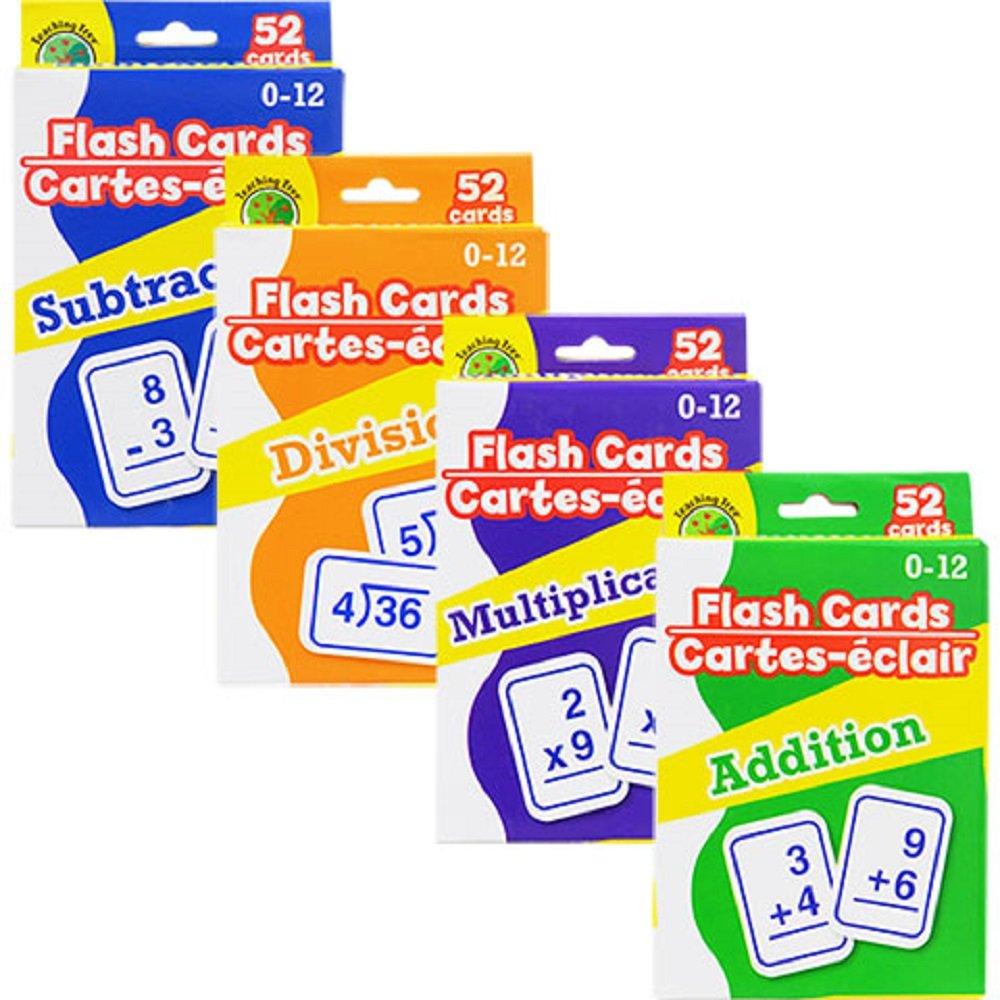 Greenbrier Math Flash Cards