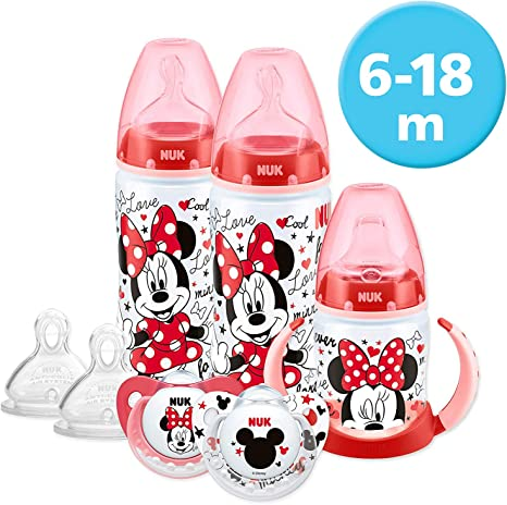 Nuk First Choice Baby Bottle 6-18 Months 300ml