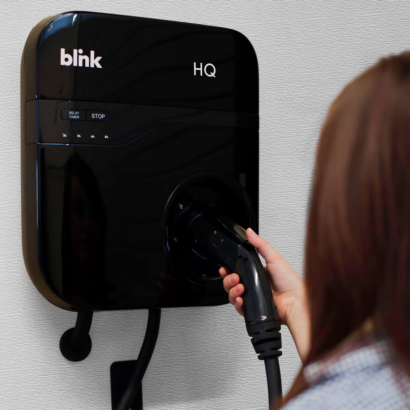 Blink HQ 30-Amp Home Electric Vehicle (EV) Charger. $99 After Public Charging Credit by Blink (Image #2)