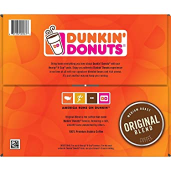 Dunkin Donuts - Cafetera original para cápsulas de copa K ...