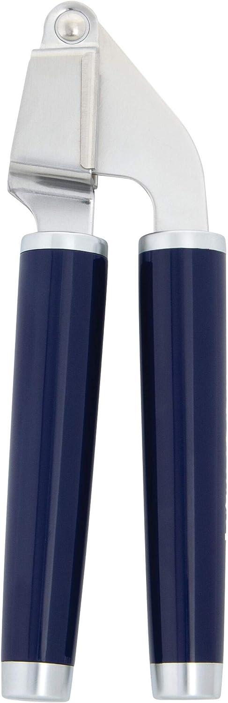 KitchenAid Classic Garlic Press, 7.68-Inch, Cobalt Blue