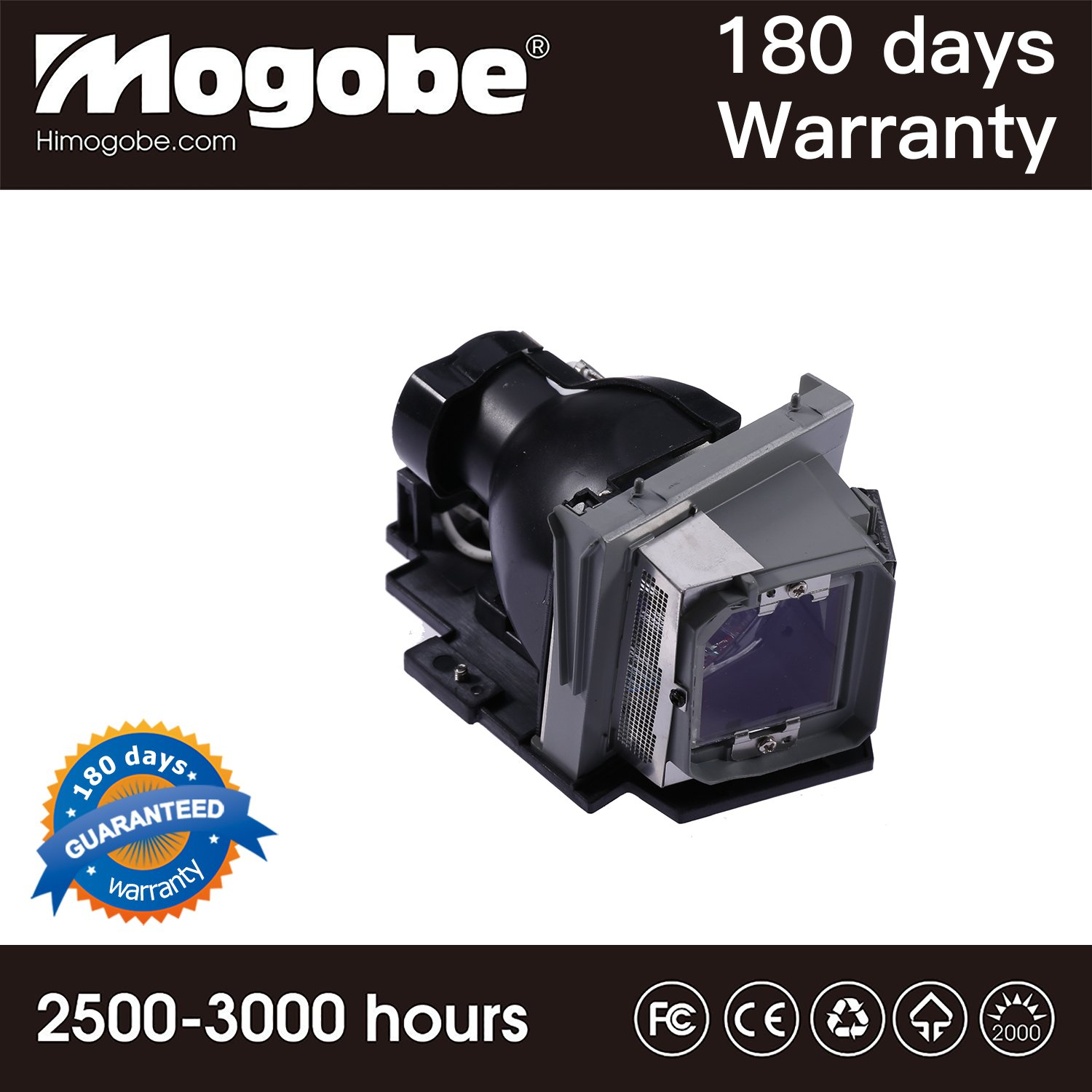 For 317-1135 Replacement Lamp with Housing for 4210X Dell Projectors by Mogobe
