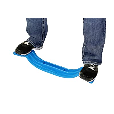 Get Out! Deluxe Balance Board in Blue – Wobble Training Tool for All Ages (Kid to Adult) Agility, Workout, Exercise: Toys & Games
