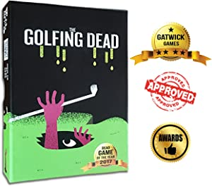 The Golfing Dead - Best New Zombie Card Game by Gatwick Games - Top Family Games for 2 to 6 Players - Great for Adults, Couples, Teens, and Kids Ages 7 Years and Up - Golf Card Game with Funny Twists