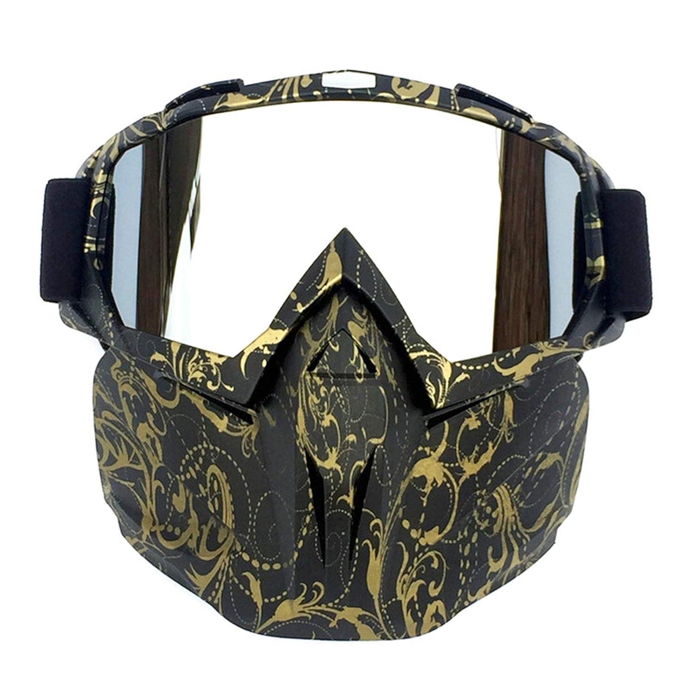 Adisaer Schutzbrille Labor Retro Gesichtsspiegelbrille Motocross Racing Brille Brille Brille Reitbrille Skibrille Damen Herren B07KD87PBD Sonnenbrillen Hochwertig e6b8f7