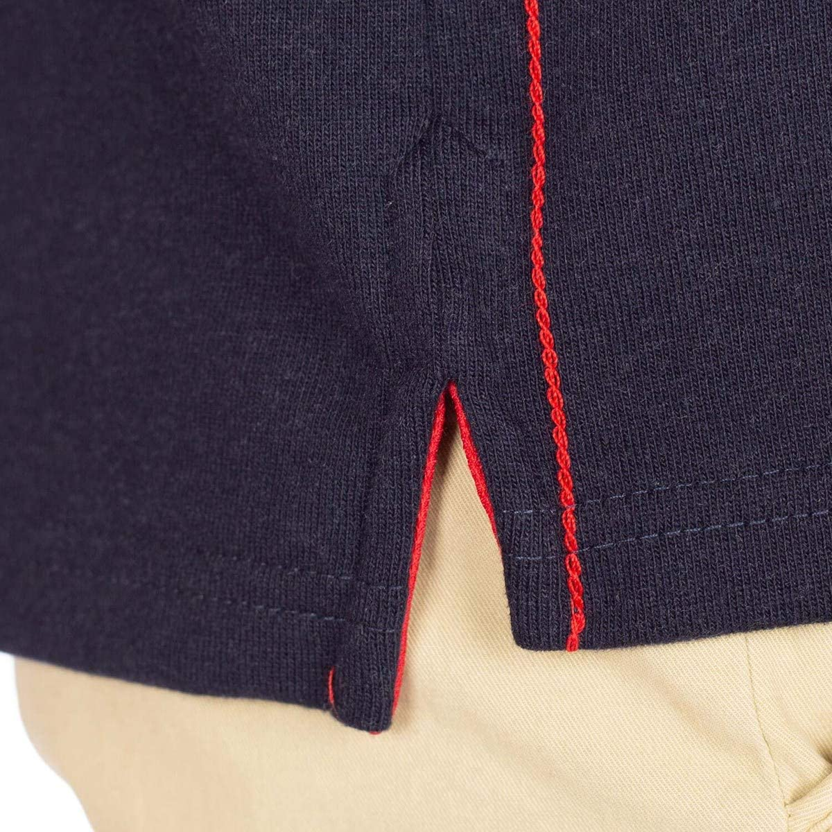 Polo de Rugby Homme 100/% Coton Slim Manches Longues Rugby Rules Sport Sportswear Uni Regular Casual Basic
