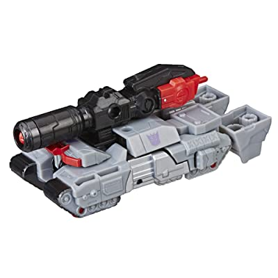 Transformers Cyberverse Action Attackers: 1-Step Changer Megatron Action Figure Toy: Toys & Games
