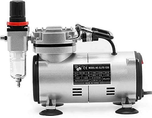 PointZero 1 5 HP Airbrush Compressor