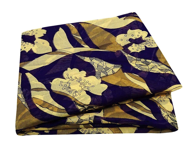PEEGLI Vintage Indio Sari Púrpura Étnico Vestir Seda Mezcla Art º Decoración DIY Tela Casual Mujer Sarong Envolver Floral Saree: Amazon.es: Amazon.es