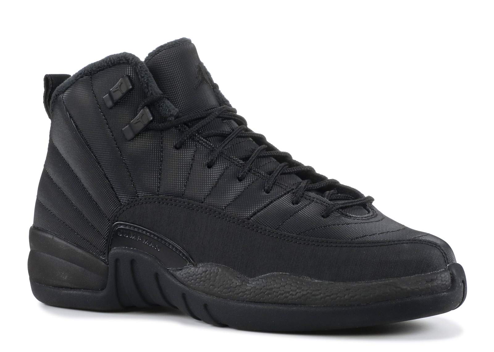 Nike Air Jordan 12 Retro Winter GS Triple Black BQ6852-001 (Size: 6.5Y)