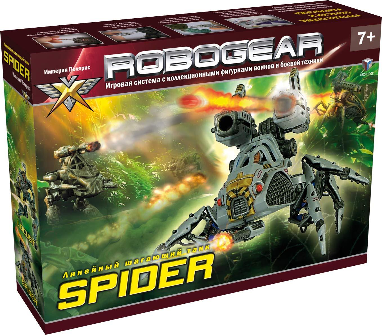 Spider Robogear Fantasy Military Vehicle War Game Toy Action Figures Model Kit Tehnolog